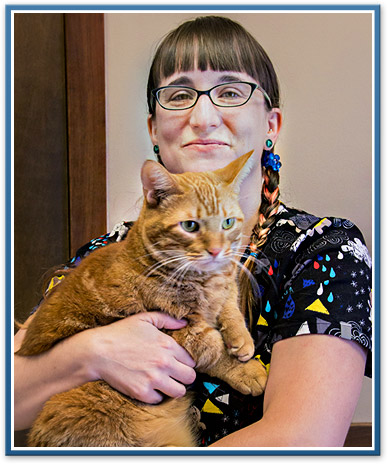 Ypsilanti veterinary staff, Amy