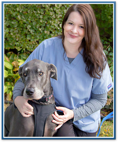 Ypsilanti animal hospital veterinary staff, Chrissy