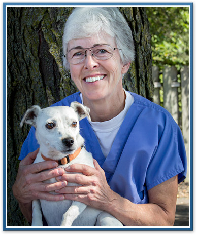 Ypsilanti veterinary staff, Connie
