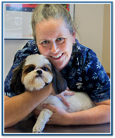 Ypsilanti veterinary staff, Cristy